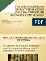 Conocimietos Sobre Construcción de Semilleros y Preparacion De