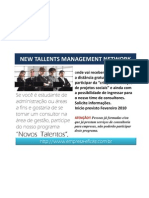 Programa Novos Talentos da Eficaz consultoria de gestao
