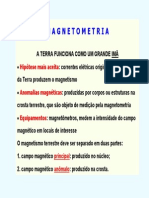Geofisica - Curso de Magnetometria