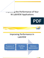 Improving the Performance of Your NI LabVIEW Applications
