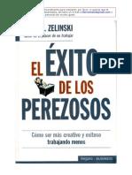 El Exito de Los Perezosos - Ernie J Zelinski