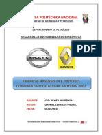 Análisis Nissan Motors