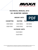 Technical Manual 2013 Dc Inverter Series - Maxa