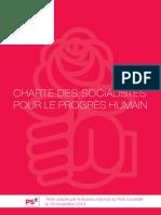 Charte des socialistes pour le progrès humain