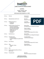Builder and Developer Summit Agenda 12-02-14