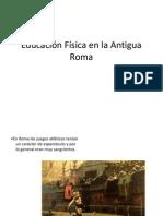 Educación Física en La Antigua Roma 2