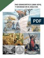 TEMA 5 EL SEXENIO DEMOCRÁTICO 1868-1874. ECONOMÍA Y SOCIEDAD EN EL SIGLO XIX