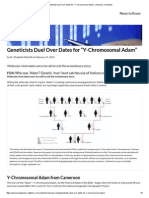 """Geneticists Duel Over Dates for """"Y-Chromosomal Adam"""" _ Answers in Genesis.pdf"""