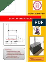 Zapatas Excentricas-concreto