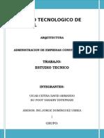 Unidad V_ Estudio Tecnico