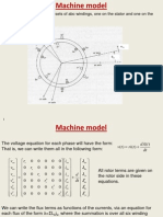 induction machine model