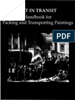 Art in Transit. Handbook for Packing and Transporting Paintings -National Gallery of Art, Washington, 1997