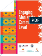 Peace Corps Men as Partners- At Community Level-Read Description