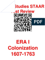 staar review colonization and revolution