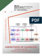 Servicio de Metrologia Integral.. Empresa Chilena