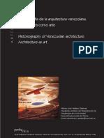 Historiografia de La Arquitectura Venezolana