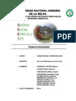 CLIMOGRAMAS DE CUENCAS - PERU