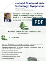 Building Passive Design & Simulation Sept 2014