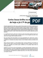 Press Carlos Sousa 10.01.03