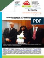 Communiqué de Presse Rapport commun Fraser-Boileau