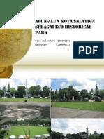 Alun-Alun Kota Salatiga Sebagai Alun-Alun Eco-Historical