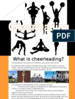 Arts - Yr9 Dance - Dance Styles - Student Work - Cheerleading