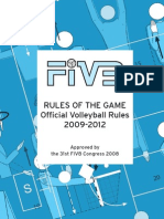 Volleyball Rules 2009-2012