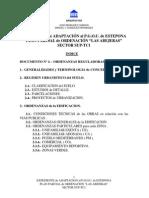 Ordenanzas Reguladoras 2009