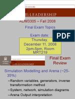 ADM3305 Final Exam Review
