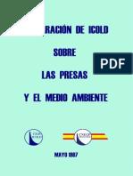 Declaracion ICOLD Presas y Medio Ambiente-1997