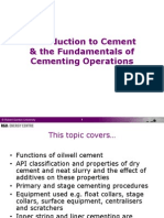 Cements Cementing Slides v1