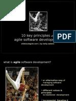 10 Key Principles of Agile Software Development - PP2003