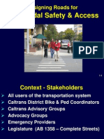 cal_dot_designing streets for pedestrian and bicycle safety_multimodal_01_introduction_7-2007