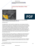 The Beginning of the End of the Petrodollar- What Connects Iraq to Iran