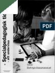 Specialpedagogisk Tidskrift