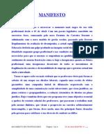Manifesto Do Movimento Professores Em Luta