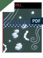 THURJ Sponsorship Packet 2009-2010