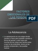 Factores Emocionales de Las Personas Desarrollo Humano1