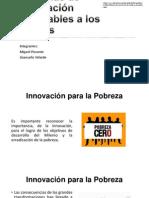 Sistemas de Innovación Favorables a La Gente Pobre
