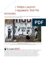 Amnesty Helps Launch Free Anti-spyware Tool for Activists