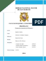 Informe Practica 6 Compuestos Oxigenados Del Nitrógeno