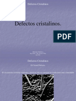 003 - Defectos Cristalinos