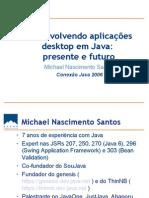 Desenvolvendo Aplicacoes Desktop Java Presente Futuro