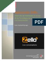 Aplicacion Zello