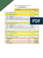 Presupuesto Matriz Etapa 1