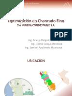 OPTIMIZACION EN CHANCADO FINO - CONDESTABLE.pdf