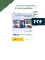 Técnicas Provechamiento de Recursos Geológico-mineros. Vol. II.