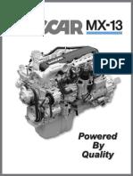 Engine Paccar Mx13 Diesel t800 Kenworth