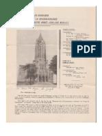 Lettre - Archevêché de Moncton - 25 mars 1941