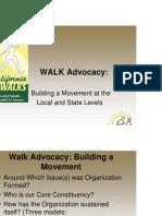 WALK Advocacy: